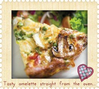 Pizza Omelette!