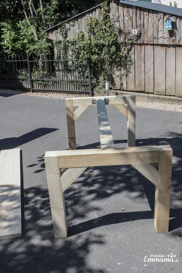 Gartentisch Aus Bauholz Selber Bauen Maya Sprenger Selber Bauen