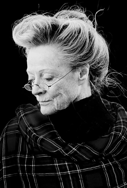 my pick to play Goody Alsup in The All Souls Trilogy is Dame Maggie Smith