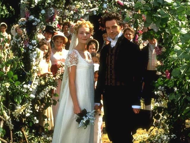 Emma (1996) - starring Gwyneth Paltrow as Emma Woodhouse + Jeremy Northam as Mr. Knightley