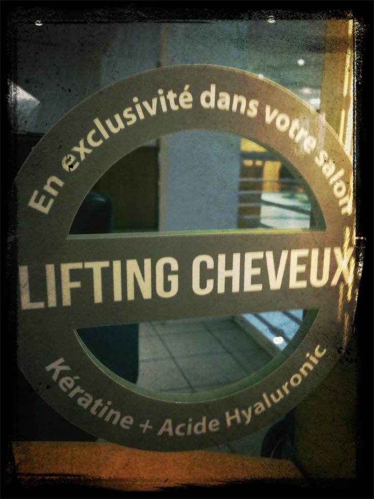 Lifting capillaire au salon #Lothmann