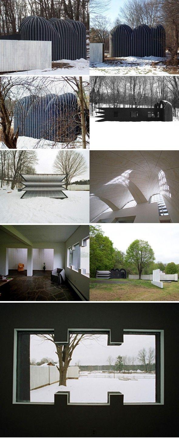 Villa Metamorphosis par Ben Ryuki Miyagi Placée prés du site mondialement connu de Woodstock, à peu près à 150 kilomètres au nord de New York. La rénovatio