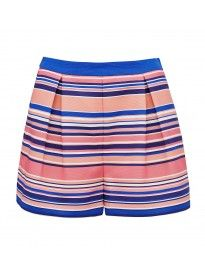 Stephanie stripe short