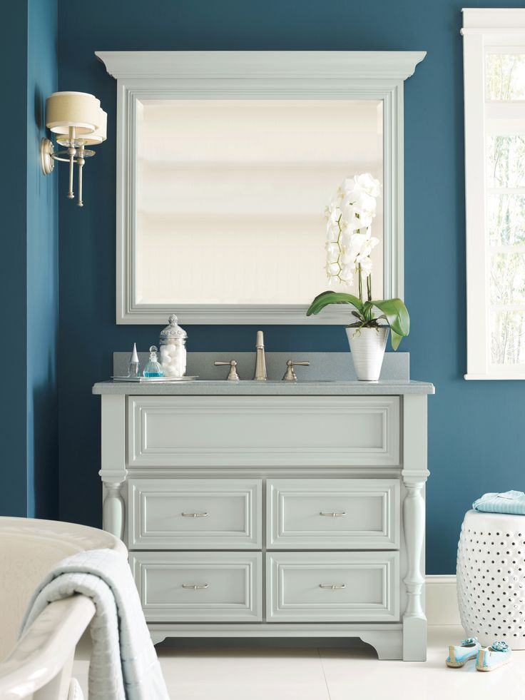 Gallery For Photographers Omega us new Jardin Suite bathroom cabinet in blue gray evokes the perfect space for rejuvenation and escape