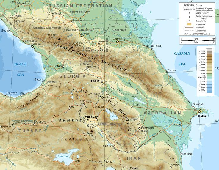 Caucasus - Wikipedia
