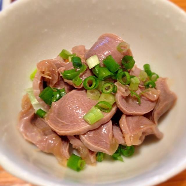 柚子胡椒が隠し味♫ - 16件のもぐもぐ - 砂肝ポン酢 by ayooco