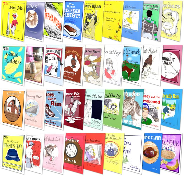 """""""Aunt Carolyn's"""" Complete Collection (36 titles) SAVE 10%!"""