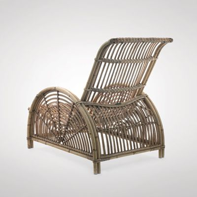 Arne Jacobsen, Slug Chair c. 1929 by R. Wengler made of cane and bamboo