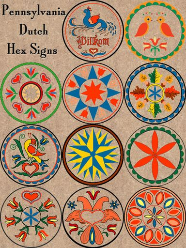 Mom and dad used to make these Pennsylvania Dutch hex signs for people. good memories!
