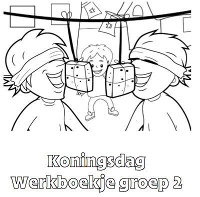 Koningsdag Werkboekje groep 2