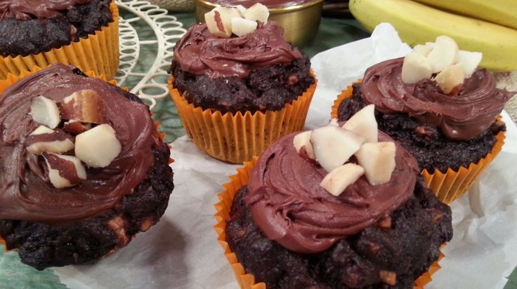 Sugar and dairy-free marvellous chocolate muffins!