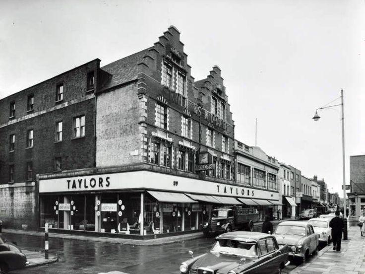 Taylors Lambeth Walk established 1840's photo taken 1960