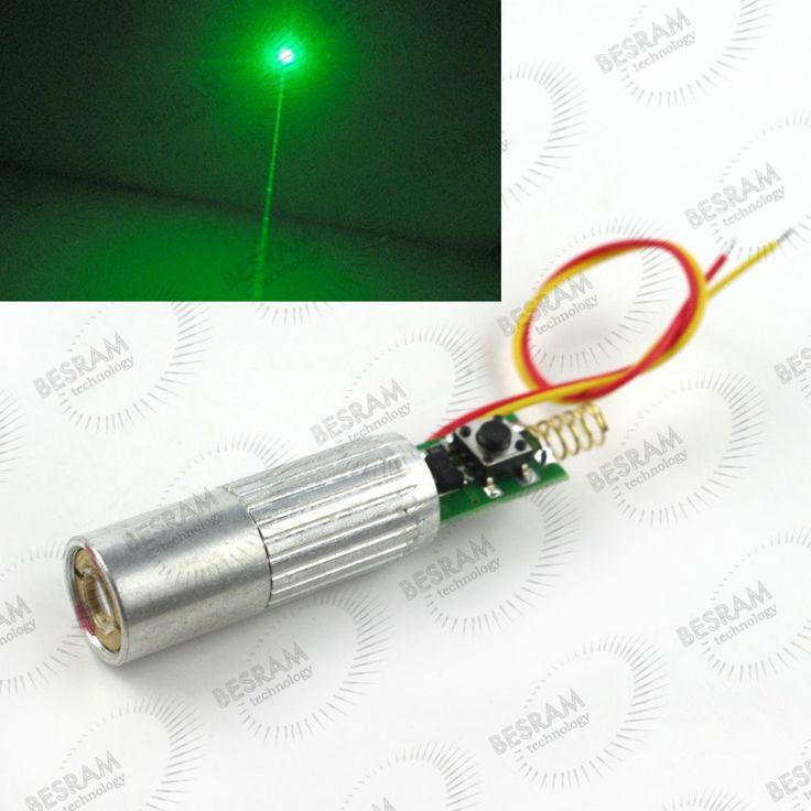 10 백만와트 30 백만와트 50 백만와트 532nm 녹색 빔 레이저 Lazer 다이오드 모듈 3VDC 13 미리메터 직경