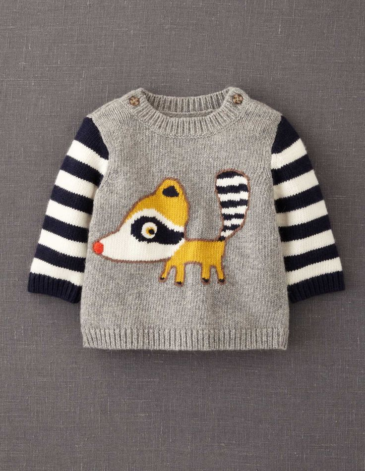 Raccoon Sweater from Boden