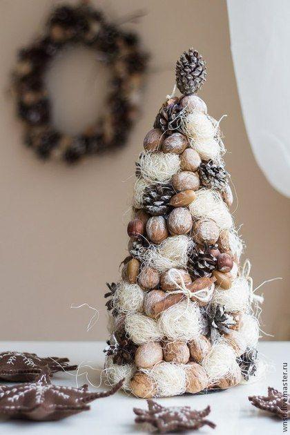 Новогодня елка в эко стиле - елка,елка новогодняя,елка ручной работы,елка из сизаля