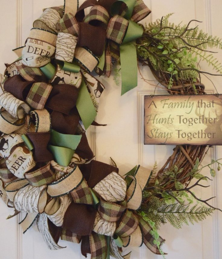 hunting craft ideas 17 best ideas about primitive wreath on fall 2208