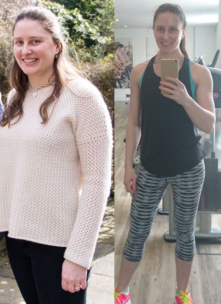 BEFORE / AFTER / Two photos showing my weight loss from 165lbs (left) to 135lbs (right). I got my eating under control but also developed a love for fitness (weightlifting in particular).