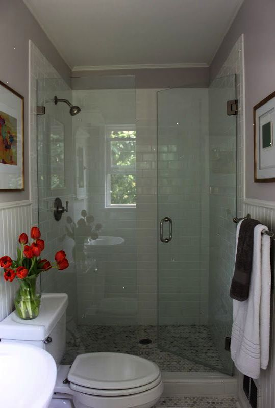 Idea For Master Bath Redo Love The Shower Door Opening Into