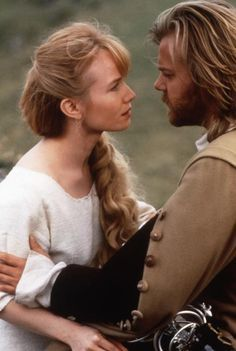 "Rebecca De Mornay and Kiefer Sutherland in ""The Three Musketeers"""