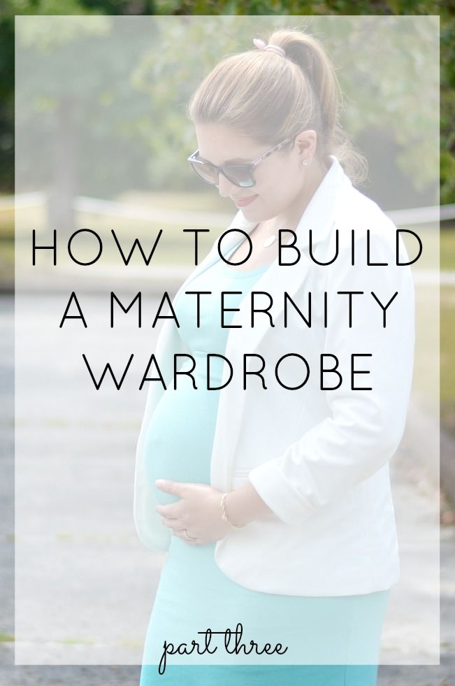 Systematic approach to building a maternity wardrobe. Parts 1 and 2 were great, take a look at parts 3 and 4 too.