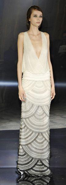 art deco gown by Rami Al Ali Spring 2013