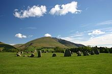 Castlerigg Stone Circle, Cumbria, North West England