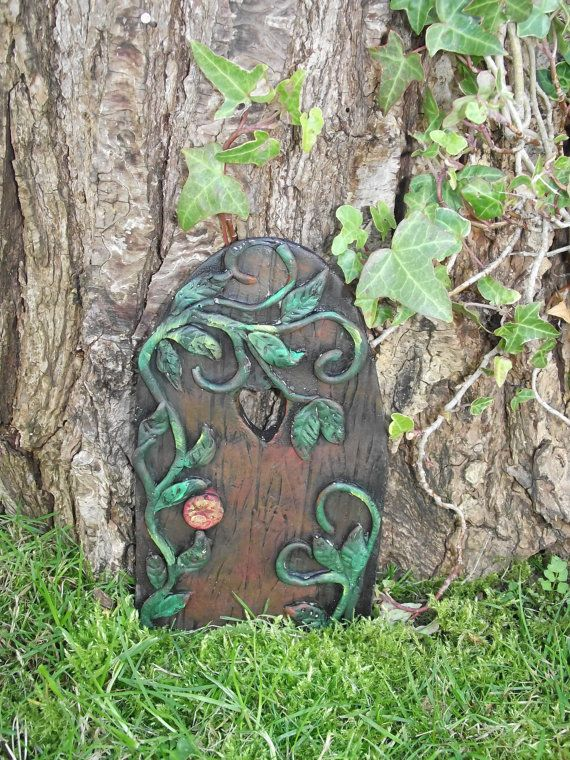 Large Fairy Garden Ideas garden wonderful garden home design ideas containing special fairy gardens houses with graceful green plant Hand Made Extra Large Fairy Door With Magic Fairy By Rusticfairy