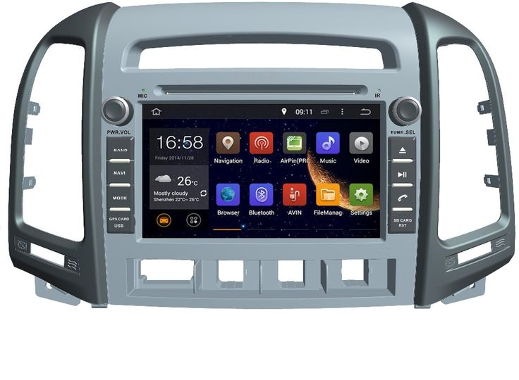 NEW Octa core 8 Core Android 6.0 Fit HYUNDAI SANTA FE 2006 2007-2012 Car DVD Player Navigation GPS Radio dvd stereo dvd ROM 32G