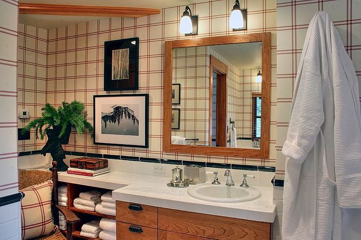 one of my favourite little guest bathrooms from the project . . .