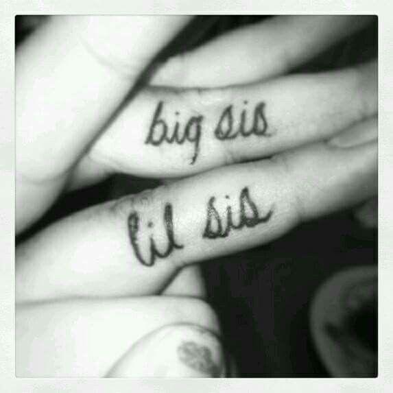Small finger tattoo
