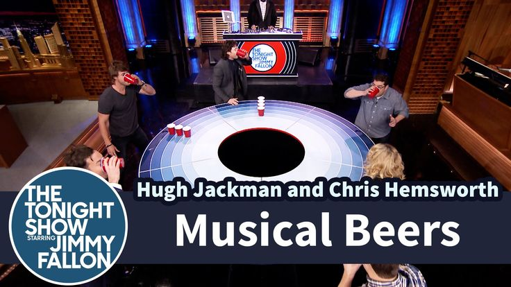 Musical Beers with Hugh Jackman, Chris Hemsworth and SNL Cast Members