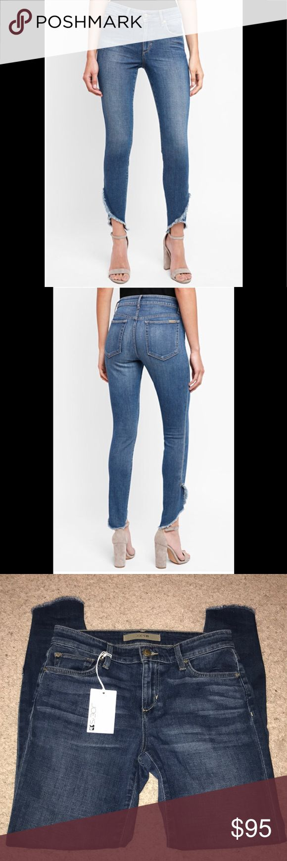 🍀 NWT! Joe's Jeans Icon Skinny with Wrap Hem Joe's Jeans Icon Skinny Jeans with Wrap Hem. NWT!  9 inch front and 12 inch back rise. ~27 inch inseam. ~4 inch bottom leg opening. 13 1/2 inches waist laying flat. Joe's Jeans Jeans Skinny