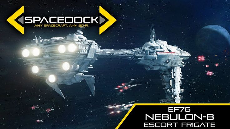 Star Wars: Nebulon-B Escort Frigate (Legends) - Spacedock