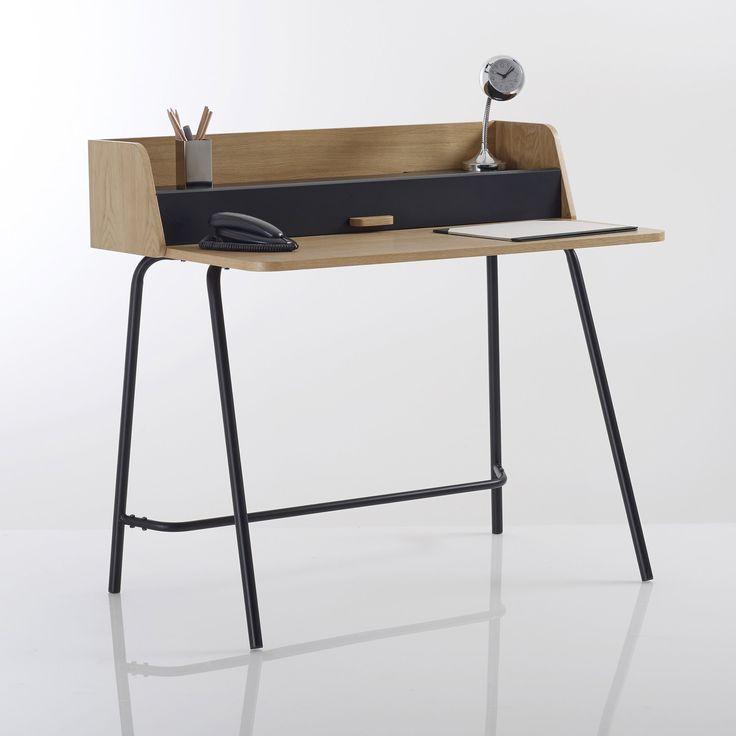 Стол в стиле ретро, QUILDA La Redoute Interieurs : цена, отзывы & рейтинг, доставка. Стол с надставкой QUILDA . Стол в духе 60-х в новом исполнении, идеален для комнаты или кабинета . Большая центральная ниша для вещей . Уникальный стиль с ножками из металла с перекладиной для ног и столешницей из дерева под дуб . Описание стола в стиле ретро, QUILDA :1 надставка с центральной нишей Ножки из металла с перекладиной для ног Характеристики стола в стиле ретро QUILDA :МДФ, фанера(дуб)Ножки и...