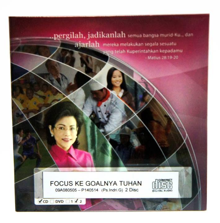 [Audio CD] Fokus ke Goal nya Tuhan  #IndriGautama #Kekristenan #Goal