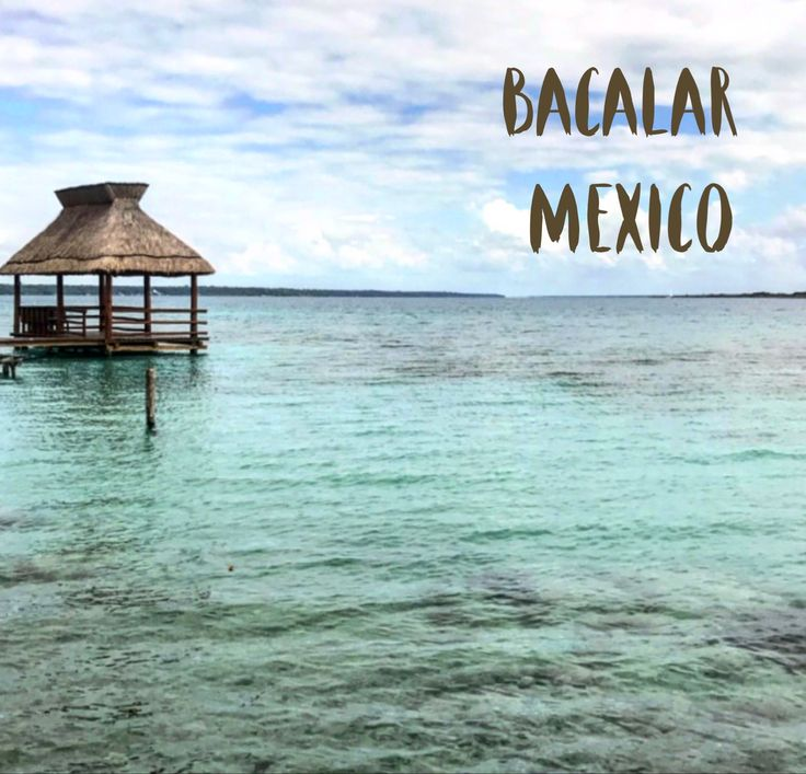 Bacalar, un paraíso escondido en el Caribe Mexicano.