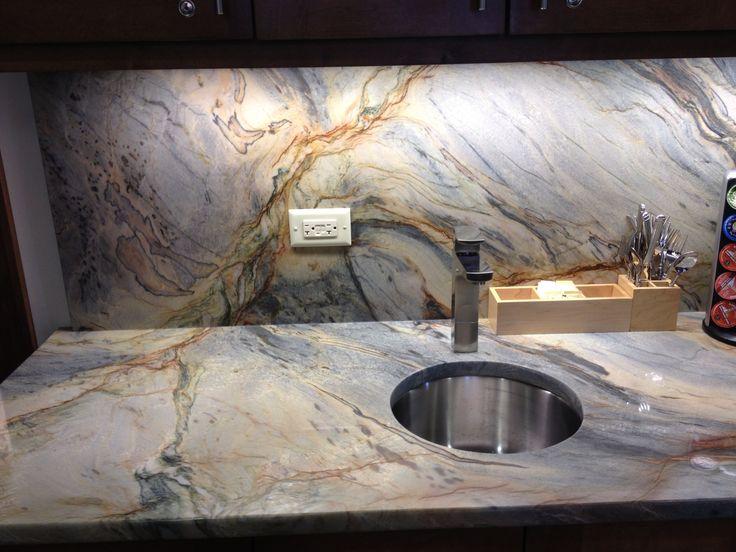 Fusion Granite Top Amp Backsplash By Natural Stoneworks