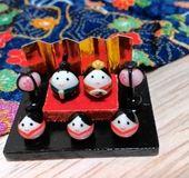 小さな雛人形(収納箱付き) | ホーム&リビング > インテリア小物 > その他インテリア小物 | ハンドメイド・手作り作品の通販、販売 tetote(テトテ)