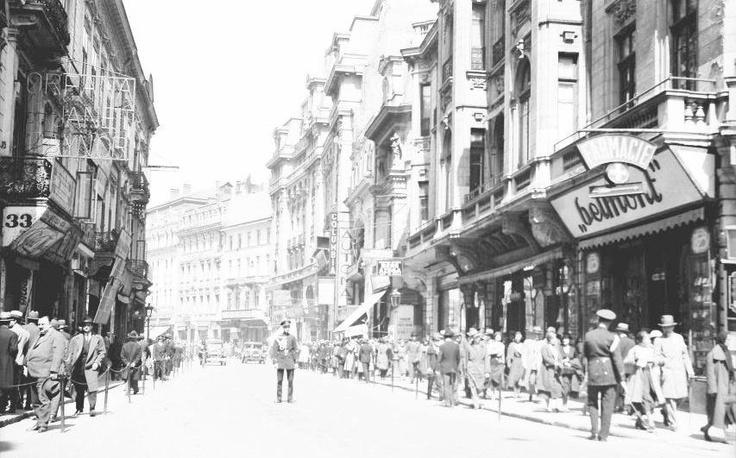 Bucuresti - Calea Victoriei - 1932