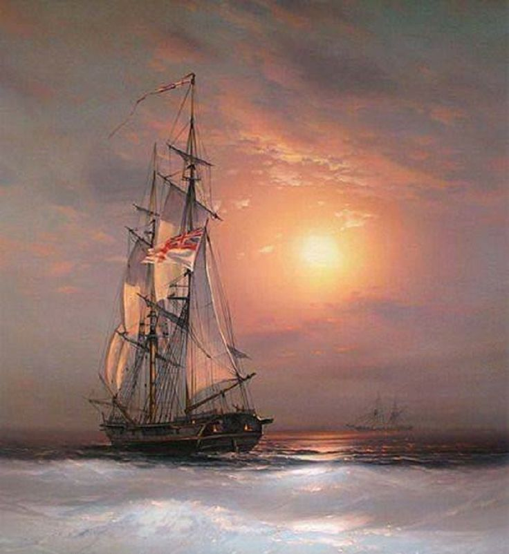 tall-ship-on-sunset