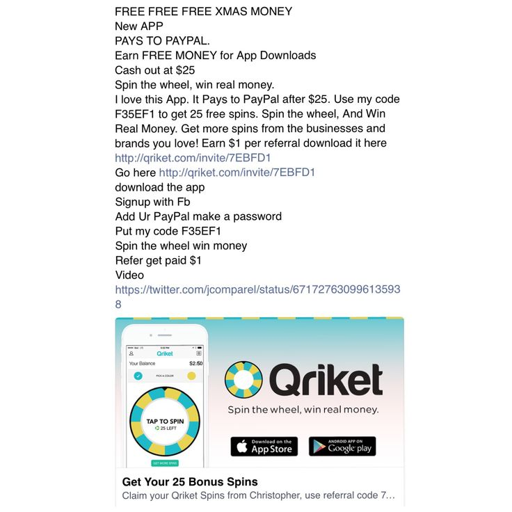 FREE FREE FREE XMAS MONEY New APP PAYS TO PAYPAL. Earn