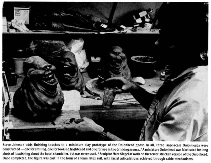 Curiosities: Ghostbusters: Rare Behind the Scenes Pictures