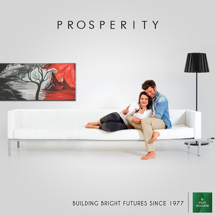 Vijay Shanthi Builders- Building bright futures since 1977 #Prosperity
