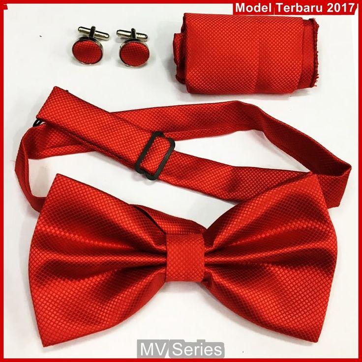 MV109 Model Dasi Cantik Kupu 1 Set Terbaru BMGShop