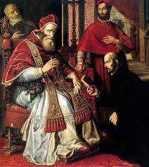 254 – (1541 - 14 de Mayo) La Catedral. El Papa Paulo III, expide una bula, confiriendo el rango de Catedral a la Iglesia Mayor de Lima y dándole la advocación de San Juan Evangelista.