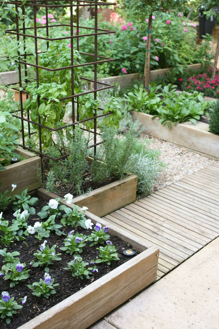 Raised vegetable beds/timber