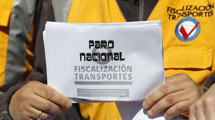 Paro de fiscalizadores de Transportes complica estas Fiestas Patrias - La Nación (Chile)