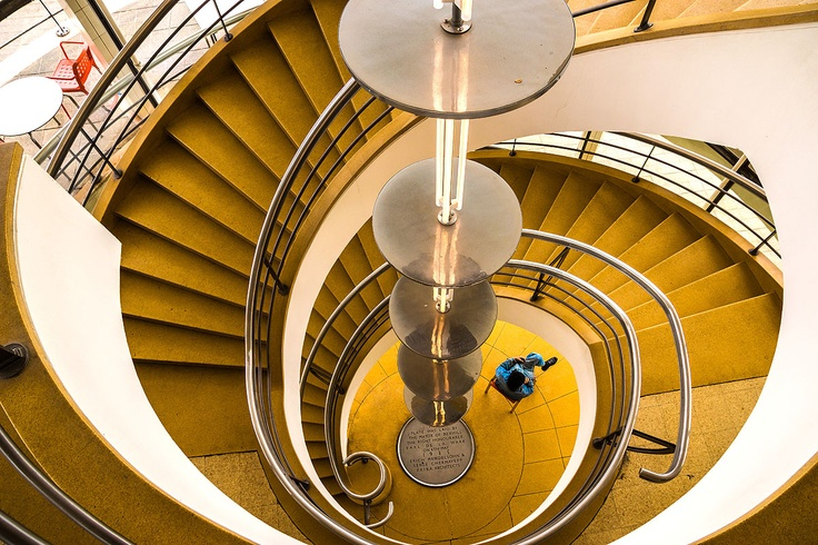 Staircase in Bexhill / South Sussex