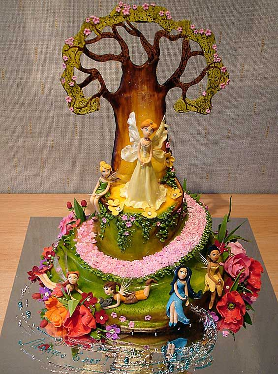 Tinkerbell - This is the cake we've chose.