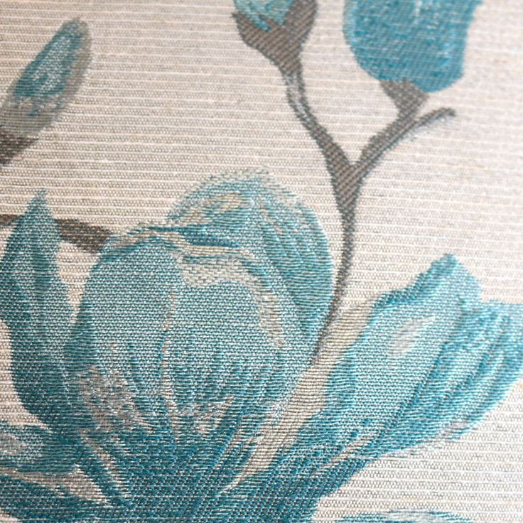 Saratoga Teal Ready Made Eyelet Curtains | Harry Corry Limited